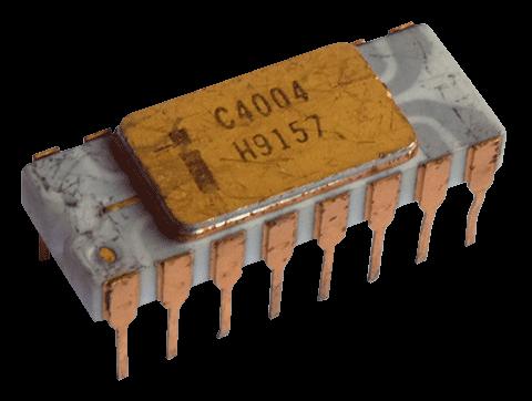 Intel 4004. Semilla de la era de la Inteligencia Artificial